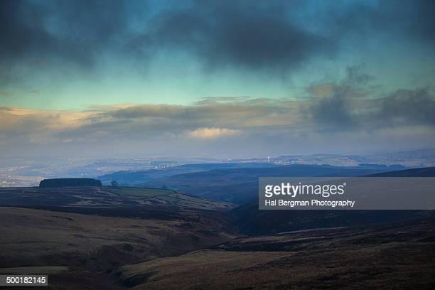 Haworth Moor in winter