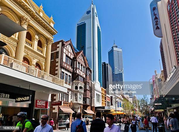 Hay Street Mall Perth