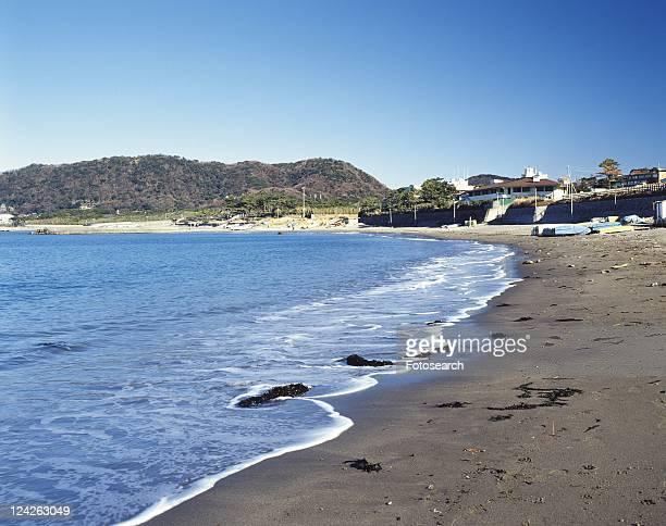 Hayama Beach, Shonan, Kanagawa Prefecture, Japan, Front View, Pan Focus