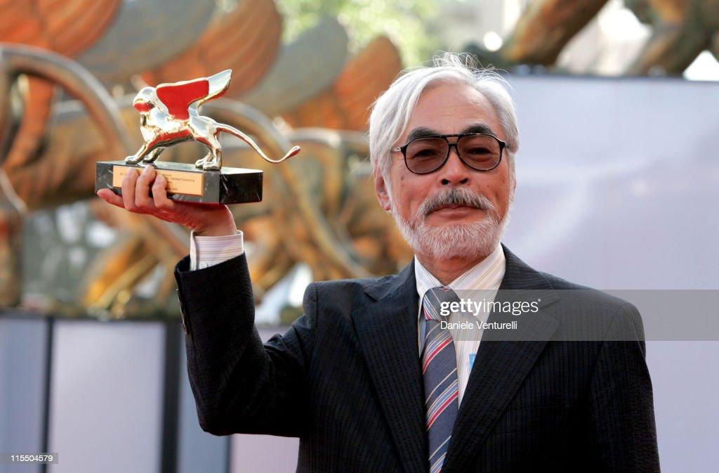 2005 Venice Film Festival - Hayao Miyazaki Presentation