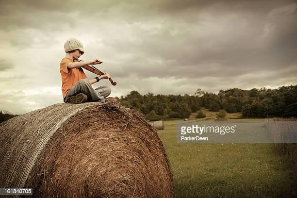Haybale Fiddler Series