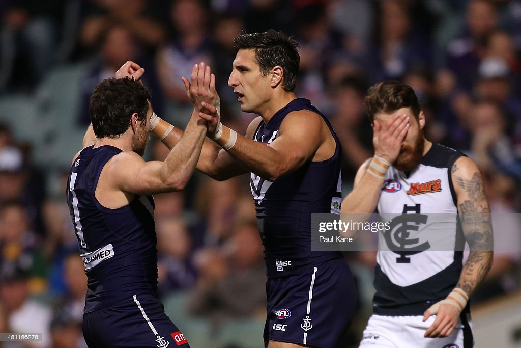 AFL Rd 16 -  Fremantle v Carlton