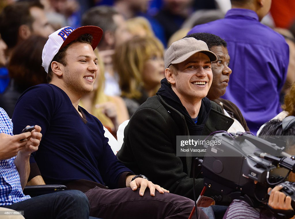 Hayden Christensen attends a basketball between the Detroit Pistons and the Los Angeles Clippers at Staples Center on March 22, 2014 in Los Angeles, California.