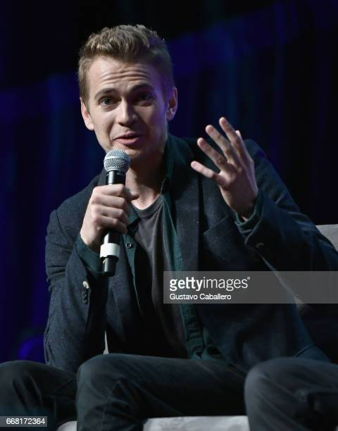 Hayden Christensen attends the Star Wars Celebration day 01 on April 13 2017 in Orlando Florida