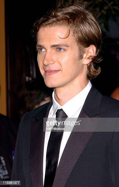 Hayden Christensen during 2005 Cannes Film Festival Star Wars Afterparty in Cannes France