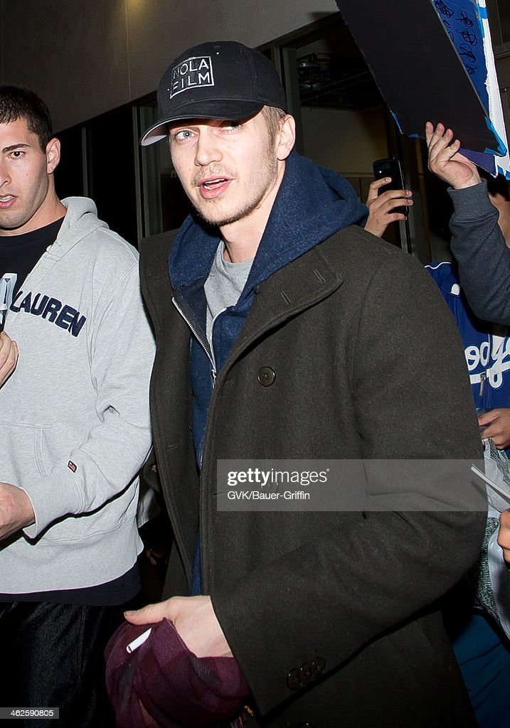 <a gi-track='captionPersonalityLinkClicked' href=/galleries/search?phrase=Hayden+Christensen&family=editorial&specificpeople=202505 ng-click='$event.stopPropagation()'>Hayden Christensen</a> is seen at LAX airport on January 13, 2014 in Los Angeles, California.