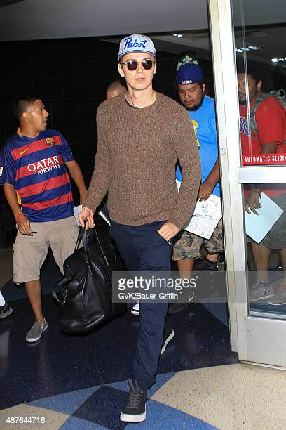 Hayden Christensen is seen at LAX on September 10 2015 in Los Angeles California