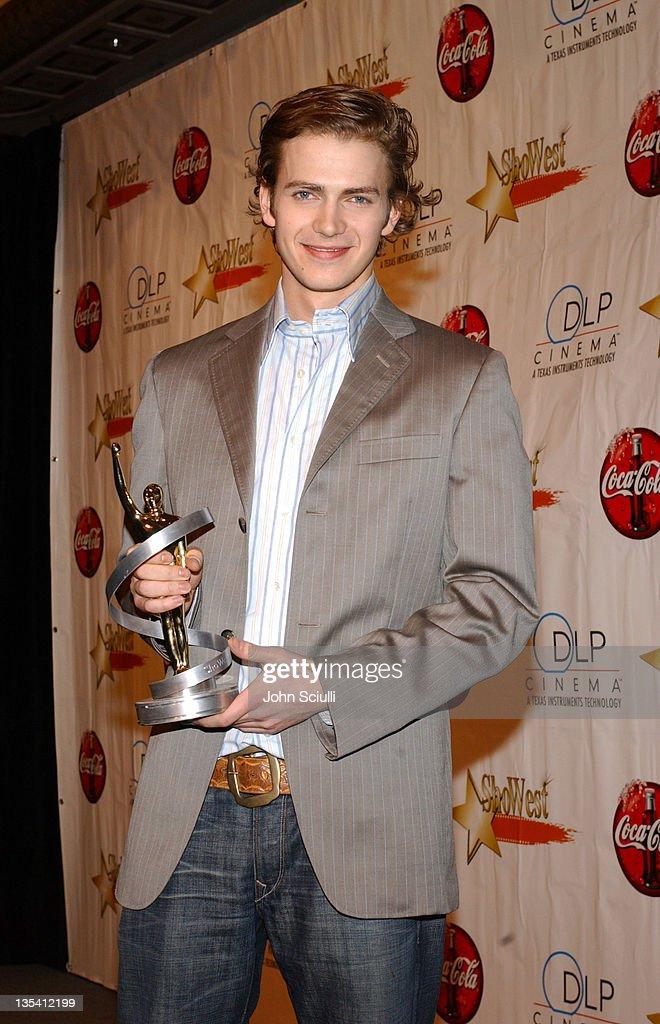 Hayden Christensen, winner Male Star of Tomorrow Award