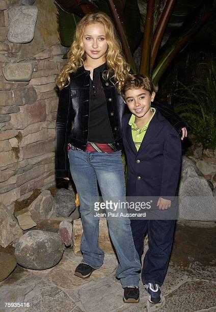 Hayden Panettiere and brother Jansen