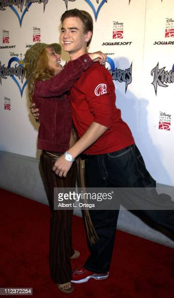 Hayden Panettiere and David Gallagher during 'Kingdom Hearts' Video Game PreLaunch Party at W Hotel in Westwood California United States