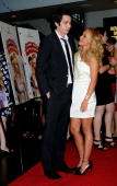 Hayden Panettiere and Jack Carpenter attend a screening of 'I Love You Beth Cooper' hosted by Seventeen magazine at AMC Lincoln Square on July 7 2009...