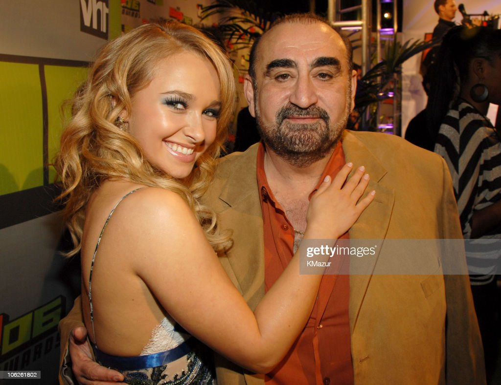 <a gi-track='captionPersonalityLinkClicked' href=/galleries/search?phrase=Hayden+Panettiere&family=editorial&specificpeople=204227 ng-click='$event.stopPropagation()'>Hayden Panettiere</a> and <a gi-track='captionPersonalityLinkClicked' href=/galleries/search?phrase=Ken+Davitian&family=editorial&specificpeople=3970433 ng-click='$event.stopPropagation()'>Ken Davitian</a> during VH1 Big in '06 - Red Carpet at Sony Studios in Culver City, California, United States.
