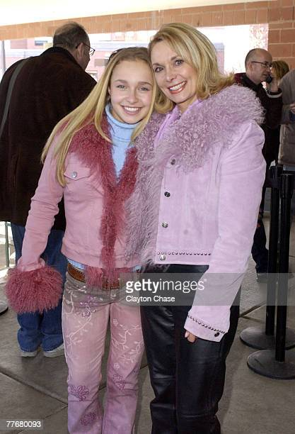 Hayden Panettiere and mother