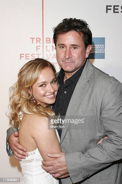 Hayden Panettiere Anthony LaPaglia during 5th Annual Tribeca Film Festival 'The Architect' Premiere at Tribeca Performing Arts Center in New York...