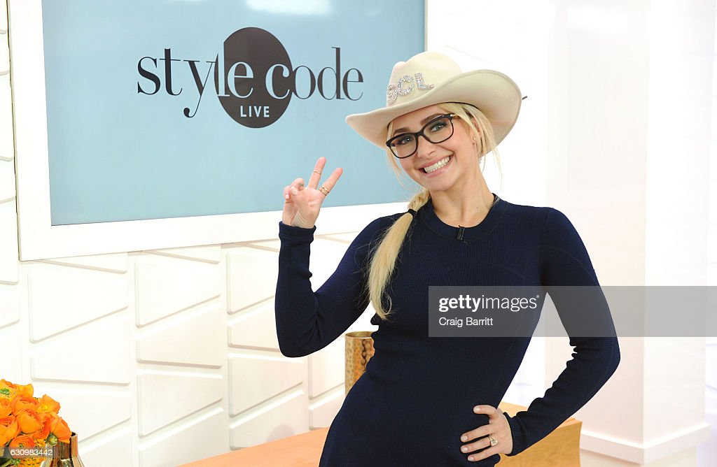 Hayden Panettiere appears on Amazon's Style Code Live on January 4, 2017 in New York City.