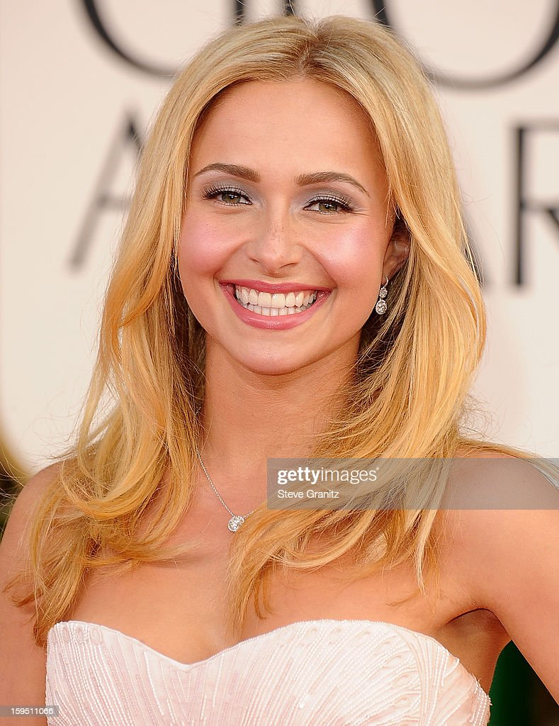 Hayden Panettiere arrives at the 70th Annual Golden Globe Awards at The Beverly Hilton Hotel on January 13, 2013 in Beverly Hills, California.