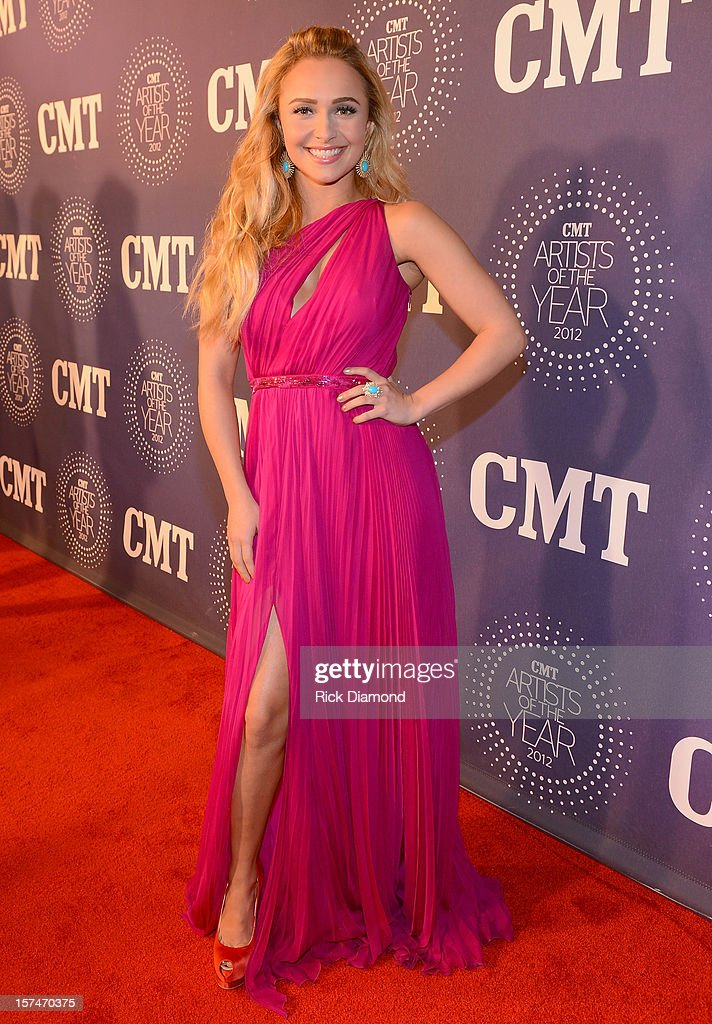 <a gi-track='captionPersonalityLinkClicked' href=/galleries/search?phrase=Hayden+Panettiere&family=editorial&specificpeople=204227 ng-click='$event.stopPropagation()'>Hayden Panettiere</a> attends 2012 CMT Artists Of The Year at The Factory at Franklin on December 3, 2012 in Franklin, Tennessee.
