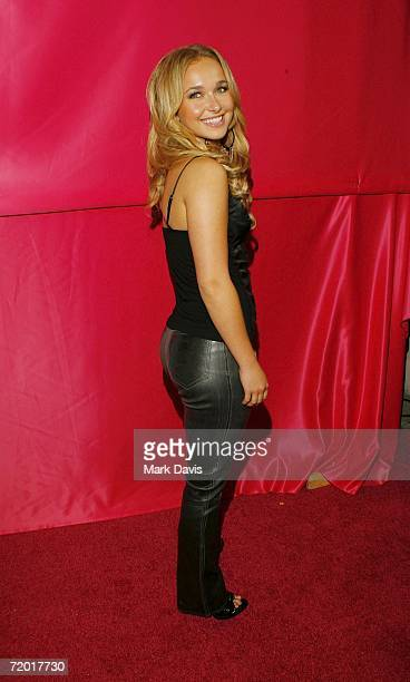 Hayden Panettiere attends celebrity makeup artist Joanna Schlips' launch of the JGurlz Fund and her book 'Glamour Girlz' held at the Gershwin on...