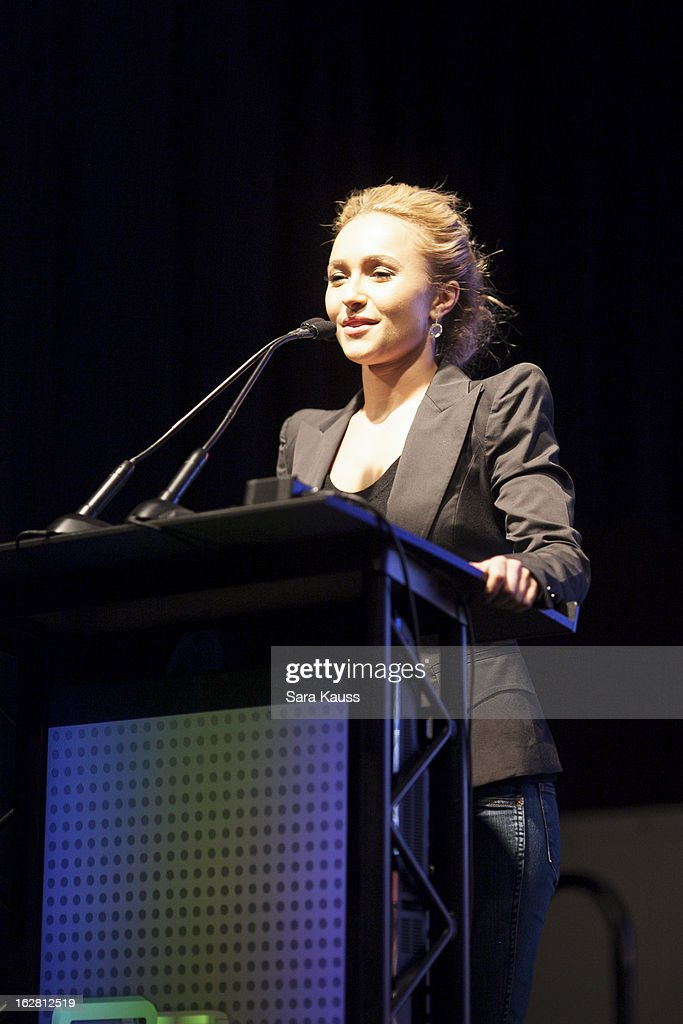 <a gi-track='captionPersonalityLinkClicked' href=/galleries/search?phrase=Hayden+Panettiere&family=editorial&specificpeople=204227 ng-click='$event.stopPropagation()'>Hayden Panettiere</a> attends CRS 2013 on February 27, 2013 in Nashville, Tennessee.