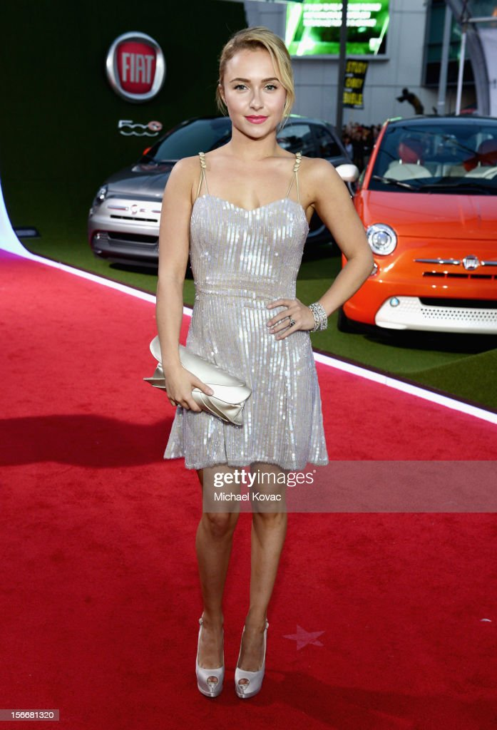 Hayden Panettiere attends Fiat's Into The Green during the 40th American Music Awards held at Nokia Theatre L.A. Live on November 18, 2012 in Los Angeles, California.