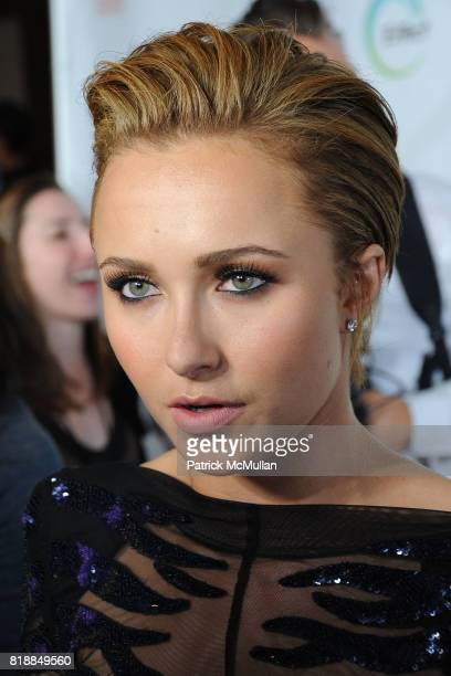 Hayden Panettiere attends James Cameron and AVATAR Cast Celebrate Earth Day in Los Angeles at JW Marriot on April 22 2010 in Los Angeles California
