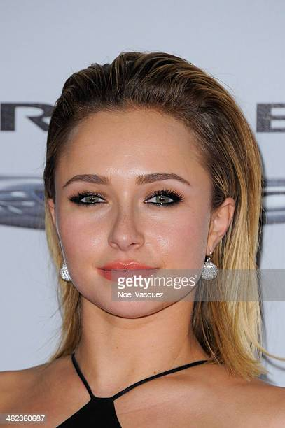 Hayden Panettiere attends NBC Universal's 71st Annual Golden Globe Awards After Party at The Beverly Hilton Hotel on January 12 2014 in Beverly Hills...