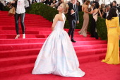 Hayden Panettiere attends the 'Charles James Beyond Fashion' Costume Institute Gala at the Metropolitan Museum of Art on May 5 2014 in New York City