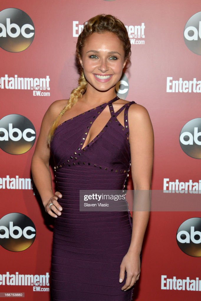 <a gi-track='captionPersonalityLinkClicked' href=/galleries/search?phrase=Hayden+Panettiere&family=editorial&specificpeople=204227 ng-click='$event.stopPropagation()'>Hayden Panettiere</a> attends the Entertainment Weekly & ABC-TV Upfronts Party at The General on May 14, 2013 in New York City.