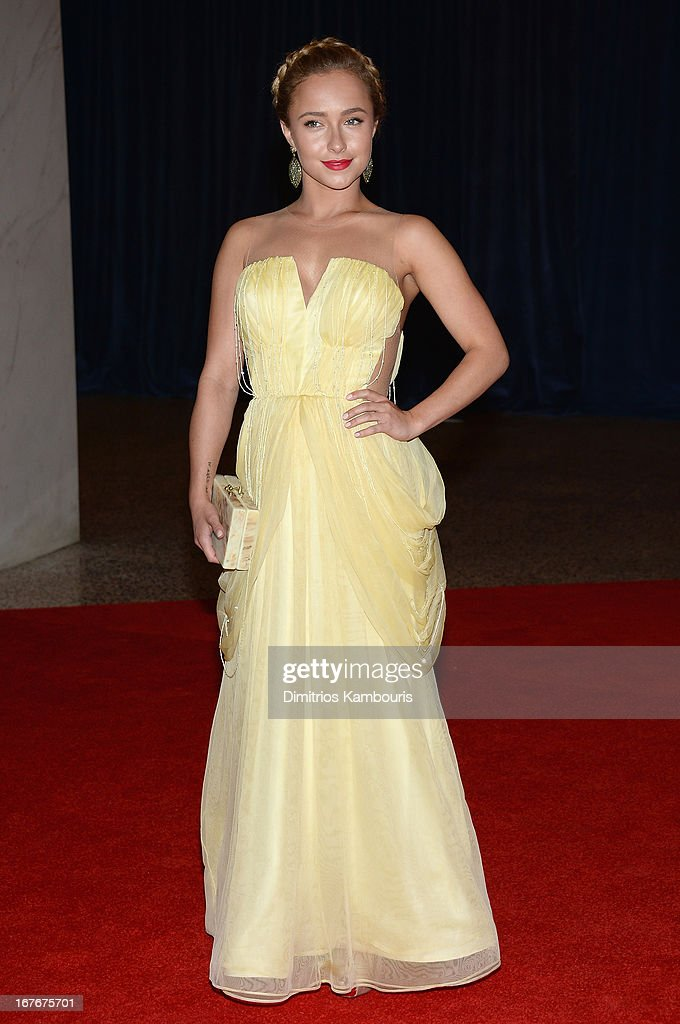 Hayden Panettiere attends the White House Correspondents' Association Dinner at the Washington Hilton on April 27, 2013 in Washington, DC.