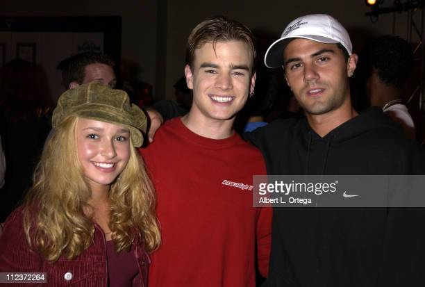 Hayden Panettiere David Gallagher and Adam LaVorgna