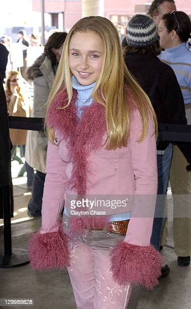 Hayden Panettiere during 2003 Sundance Film Festival 'Normal' Premiere at Eccles in Park City Utah United States