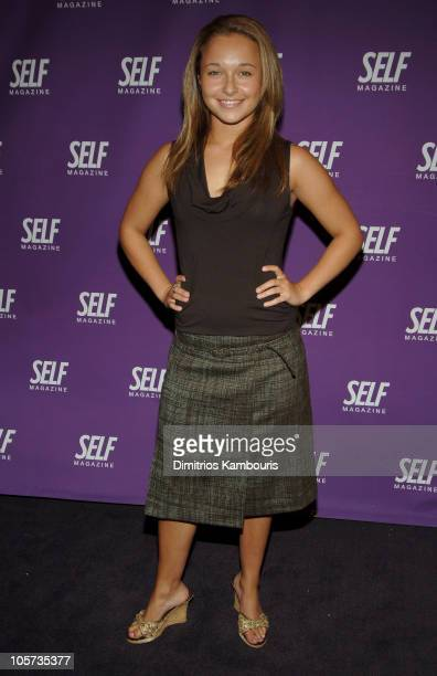 Hayden Panettiere during SELF Center Opening on Fifth Avenue at SELF Center in New York City New York United States