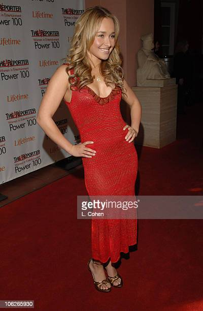 Hayden Panettiere during The Hollywood Reporter's 15th Annual Women in Entertainment Breakfast Sponsored by Lifetime Television Red Carpet at Beverly...
