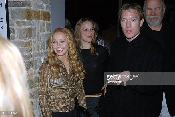 Hayden Panettiere Joseph Sikora during HBO Premiere of Normal Arrivals Party at Geffen Playhouse in Los Angeles CA United States