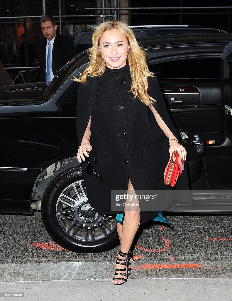 Hayden Panettiere sighting on March 15, 2013 in New York City.
