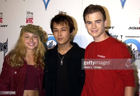 Hayden Panettiere Tetsuya Nomura and David Gallagher