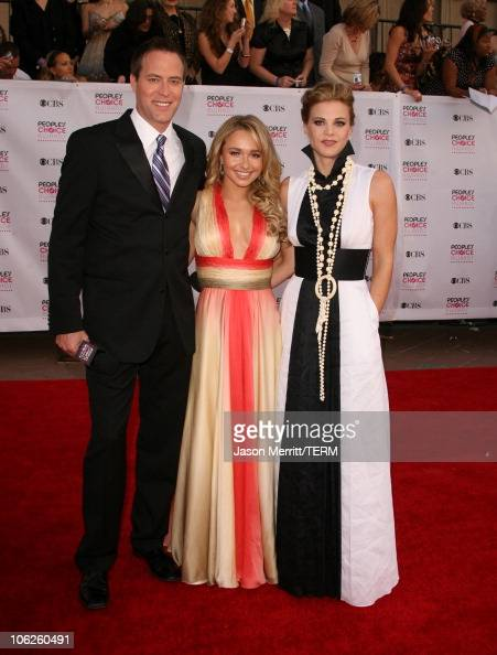 Hayden Panettiere with Rob Bogue and Gina Tognoni