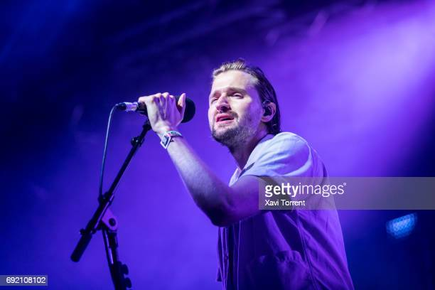 Hayden Thorpe of Wild Beasts performs in concert during day 4 of Primavera Sound 2017 on June 3 2017 in Barcelona Spain