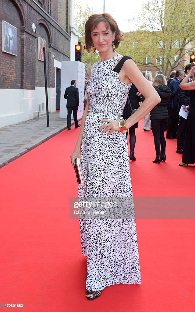 Haydn Gwynne arrives at The Old Vic for A Gala Celebration in Honour of Kevin Spacey as the artistic director's tenure comes to an end on April 19...