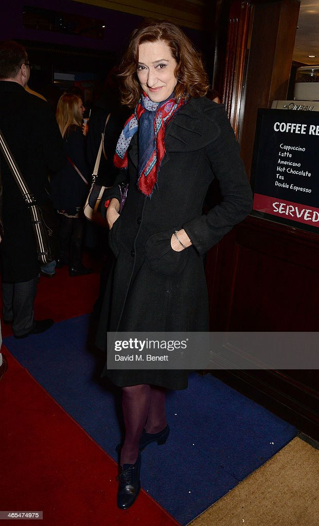 Haydn Gwynne attends a special screening of 'Private Lives' at Cineworld Haymarket on January 27 2014 in London England