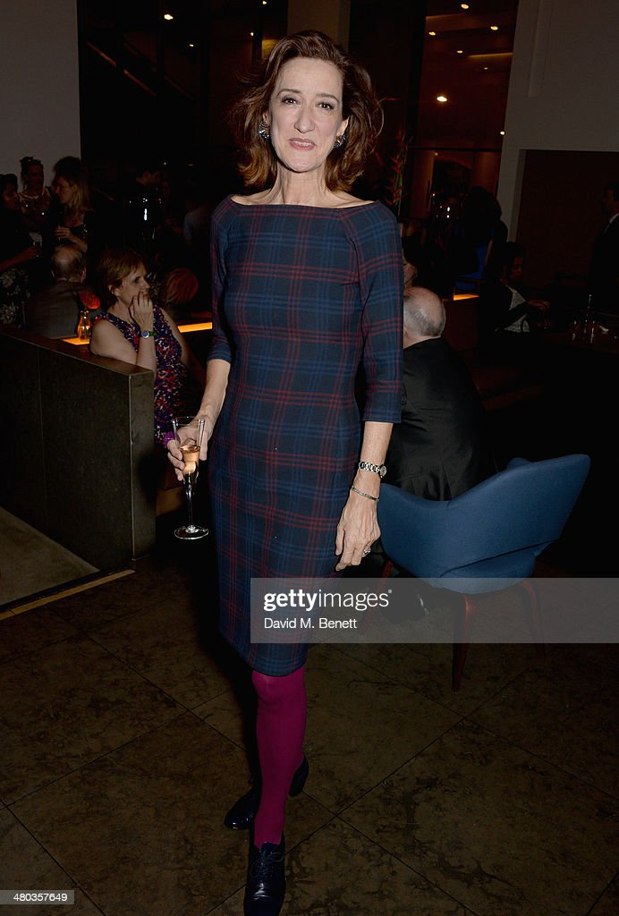 Haydn Gwynne attends an after party celebrating the press night performance of The Old Vic's 'Other Desert Cities' at Skylon Grill on March 24 2014...