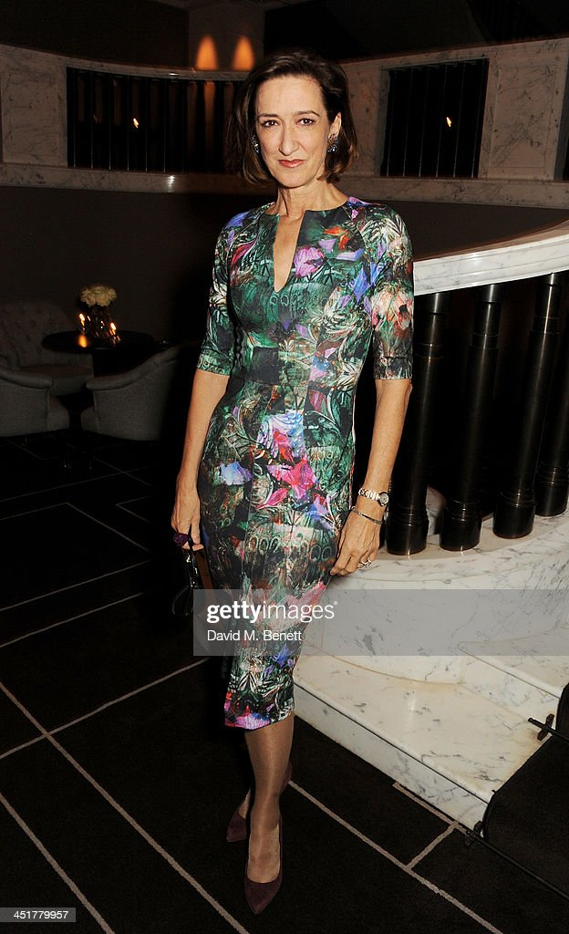 Haydn Gwynne attends The Old Vic's 24 Hour Celebrity Gala after party at Rosewood London on November 24 2013 in London United Kingdom