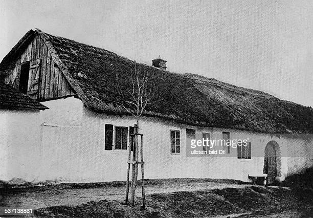 Haydn Joseph Komponist AT Haydns Geburtshaus in Rohrau undatiert
