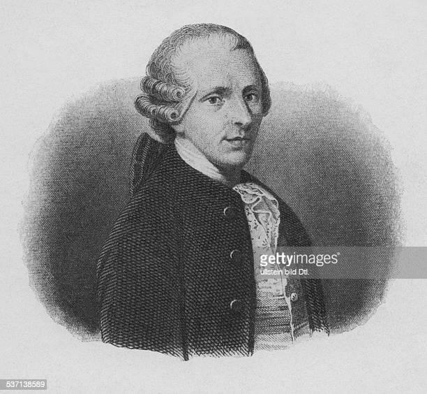 Haydn Joseph Komponist AT Portrait in jungen Jahren Stich anonym undatiert