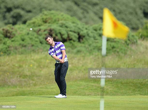 Haydn McCullen of Delamere Forest Golf Club during The Amateur Championship 2014 Day Four at Royal Portrush Golf Club on June 19 2014 in Portrush...