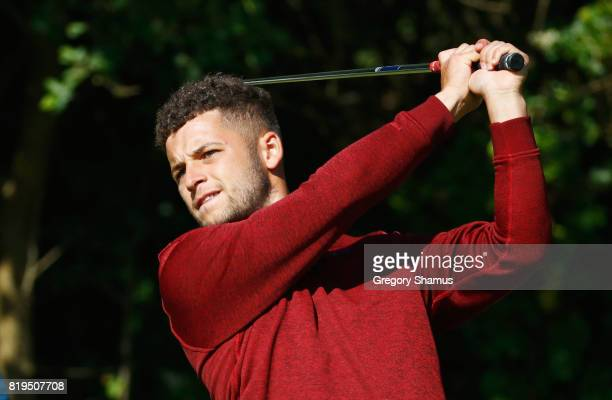 Haydn McCullen of England hits his tee shot on the 5th hole during the first round of the 146th Open Championship at Royal Birkdale on July 20 2017...