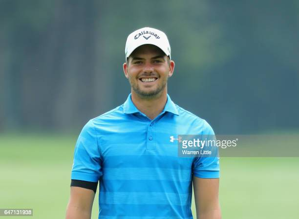 Haydn Porteous of South Africa looks on during the first round of the Tshwane Open at Pretoria Country Club on March 2 2017 in Pretoria South Africa