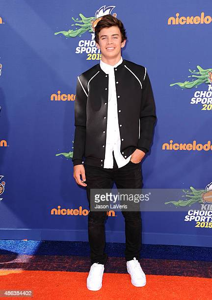 Hayes Grier attends the Nickelodeon Kids' Choice Sports Awards at UCLA's Pauley Pavilion on July 16 2015 in Westwood California