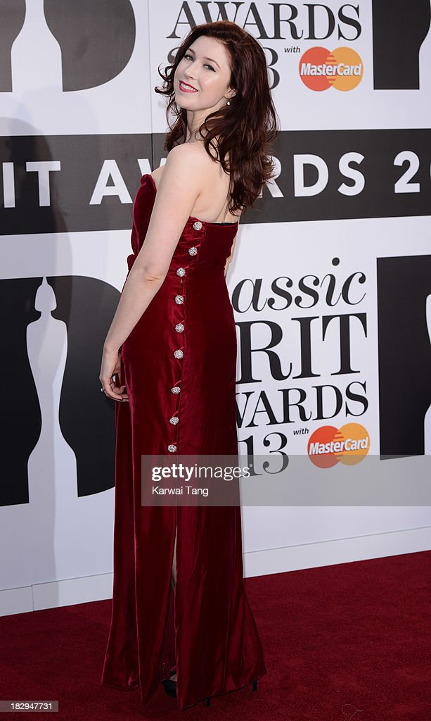Hayey Westenra attends the Classic BRIT Awards 2013 at Royal Albert Hall on October 2, 2013 in London, England.