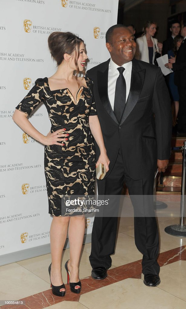 Hayley Atwell and Lenny Henry attend the British Academy Television Craft Awards at London Hilton on May 23, 2010 in London, England.